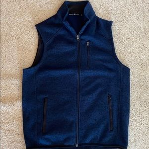 Large Blue Polo Vest